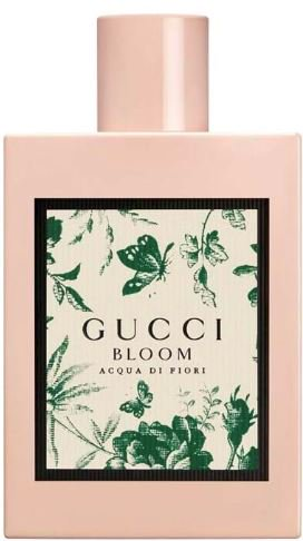 Gucci Bloom Acqua Di Fiori Eau De Toilette Perfume Spray For Women 3.3 oz