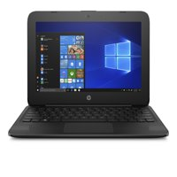"HP 11-ah117wm Streambook 11.6"" HD Display N4000 4GB RAM 32GB eMMC Windows 10 Black"