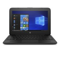 "HP Stream 11 Laptop 11.6"" , Intel Celeron N4000, Intel UHD Graphics 600, 32GB eMMC, 4GB SDRAM, Office 365 Personal- 1 YR, Jet Black, 11-ah117wm"