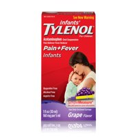 Infants' Tylenol Acetaminophen Liquid Medicine, Grape, 1 fl. oz