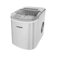 Igloo ICE206 Counter Top Compact Ice Maker, Silver - Manufacturer Refurbished