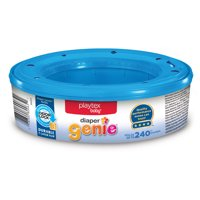 Playtex Baby Diaper Genie Diaper Disposal Pail System Refills, 1 Ct (240 diapers)