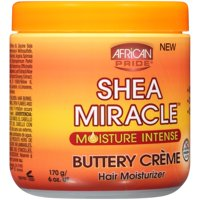 African Pride® Shea Miracle™ Moisture Intense Buttery Creme Hair Moisturizer 6 oz. Jar