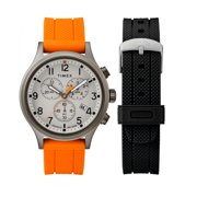 0d62a1b7d Timex Weekender Cream Dial Leather Strap Men's Watch TWG018000