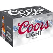 Coors Light Beer, 18 pack, 12 fl oz