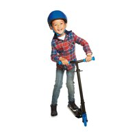 Neon Vybe Folding Scooter Vector Blue for Kids