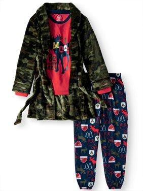Boys' 3 Piece Gifting Robe Set (Little Boy & Big Boy)