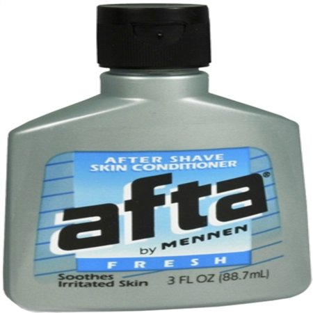 Afta After Shave Lotion and Skin Conditioner, Fresh Scent - 3 fl (Best After Shave Lotions)
