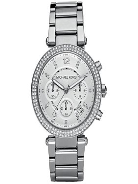 Women's Chronograph Parker Stainless Steel Bracelet Watch MK5353