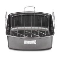 "Cuisinart 17"" x 13"" Non-Stick Roaster Pan with V-Rack, Non"