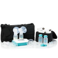 Evenflo Deluxe Advanced Double Electric Breast Pump with Customizable Settings and Tote Bag with Accessories