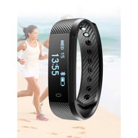 Fitness Tracker HR, Smart Activity Tracker with Heart Rate Monitor Watch, IP67 Waterproof Smart Wristband with Calorie Counter Watch Pedometer Sleep Monitor for Kids Women Men