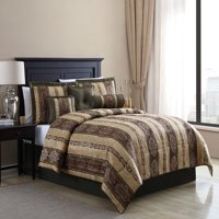 Mainstays Full Dakota Comforter Set, 7 Piece