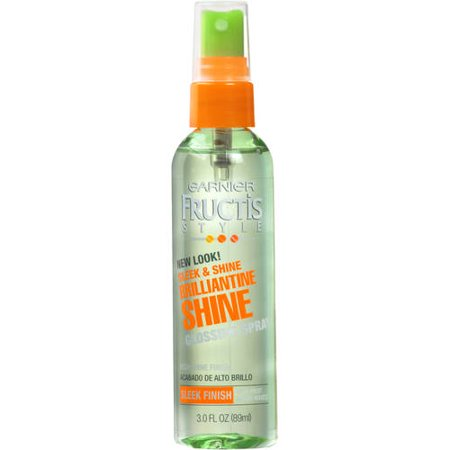 Garnier Fructis Style Brilliantine Shine Glossing Spray 3 FL (Gold Glimmer Shine Spray)