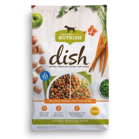 Rachael Ray Nutrish Dish Natural Dry Dog Food Chicken Brown Rice