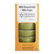 Freshness Guaranteed Mild Guacamole Mini Cups, 12 oz, 6 Count