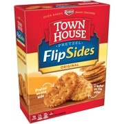 Keebler Town House FlipSides Pretzel Crackers Original, 9.2 OZ