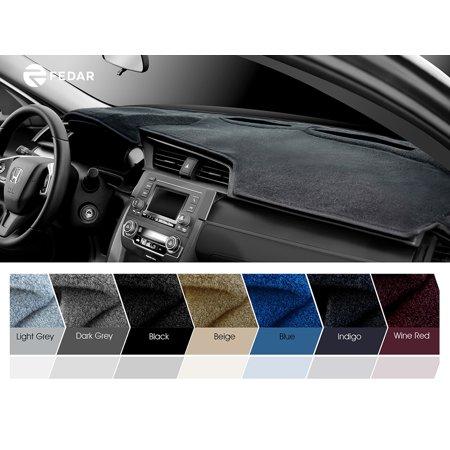 Fits   Ford Edge Dashboard Mat Pad Dash Cover Indigo