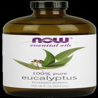 (2 Pack) NOW Pure Eucalyptus Oil, 16 Fl Oz