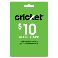 Cricket Refill Web $10 (Email Delivery)