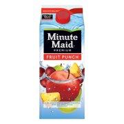 Minute Maid Premium Fruit Punch, 1.8 Quart, 59 Fl. Oz.