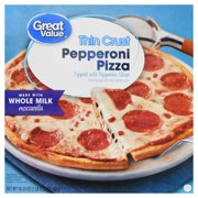 Great Value Frozen Thin Crust Pepperoni Pizza, 16.35 oz