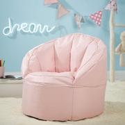 Urban Shop Canvas Bean Bag Chair, Multiple Sizes/Colors