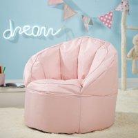Urban Shop Kids Canvas Bean Bag Chair, Multiple Colors