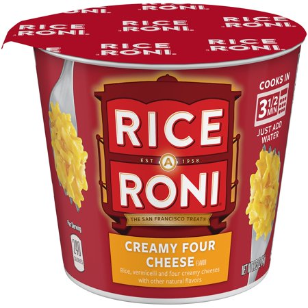 (12 Pack) Rice-A-Roni Rice & Vermicelli Mix Creamy Four Cheese, 2.25 oz