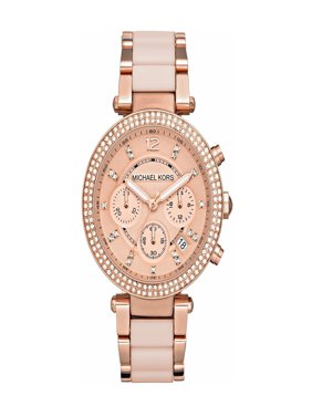 c96b4316bec68 Product Image Michael Kors Women s Parker Rose Gold-Tone Stainless Steel  Bracelet Watch