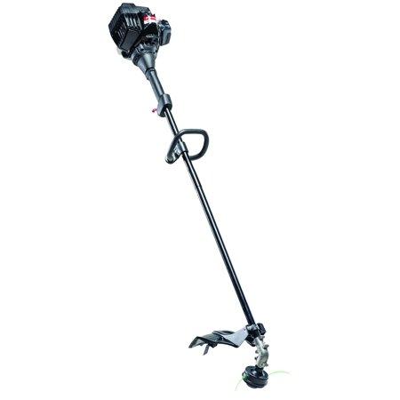 murray 16 2 cycle 25cc straight shaft gas string trimmer walmart com