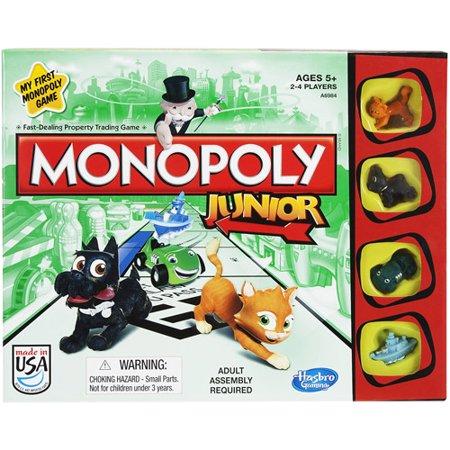 Monopoly Junior Game Walmart Com