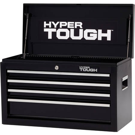 Hyper Tough 4-Drawer Tool Chest with Ball-Bearing Slides, (Best Rated Tool Boxes)