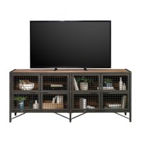 "Better Homes & Gardens Lindon Place Entertainment Credenza for TVs up to 70"", Vintage Oak Finish"