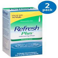 Refresh Plus® Lubricant Eye Drops 70-0.01 fl. oz. Tubes