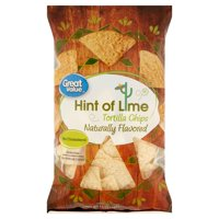 Great Value Gluten-Free Hint of Lime Tortilla Chips, 13 Oz.
