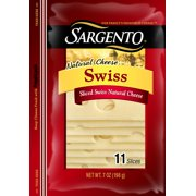 Sargento® Sliced Swiss Cheese, 7 oz. Package