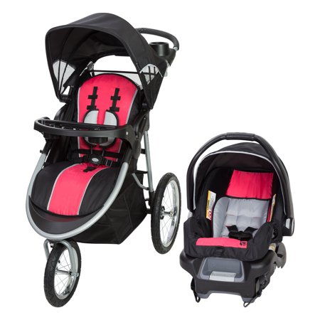 Baby Trend Pathway 35 Jogger Travel System-Optic Pink