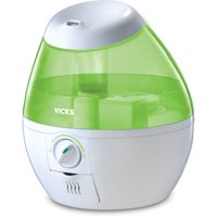Vicks Mini Filter Free Cool Mist Humidifier - Green