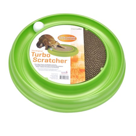 Cat Toy Display (Morovilla Turbo Interactive Scratcher Cat Toy )