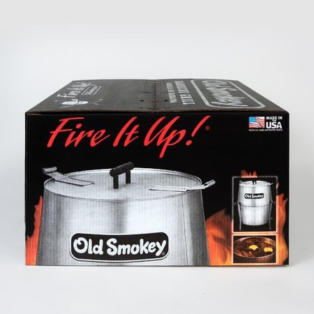 Old Smokey 333-Square Inch Charcoal Grill