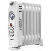 9f2c965abc7 700W Portable Mini Electric Oil Filled Radiator Heater Safe