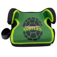 KidsEmbrace Nickelodeon Teenage Mutant Ninja Turtles Backless Booster Car Seat