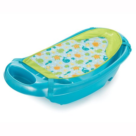 Infant Newborn Bathtub (Summer Infant Splish 'n Splash Newborn to Toddler Tub, Blue)