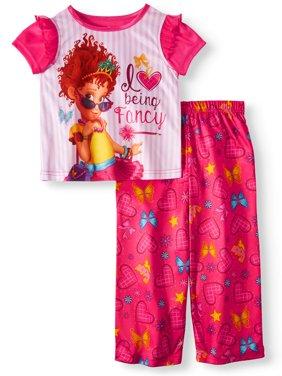 Short Sleeve Top & Pants, 2pc Pajama Set (Toddler Girls)