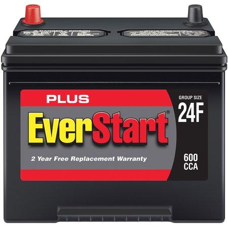 Everstart Plus Lead Acid Automotive Battery Group 24f Walmart Com