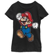 a3bfba18 Nintendo Girls' Super Mario Happy T-Shirt