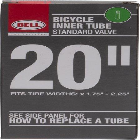 "Bell 20"" Standard Bicycle Tube, Schrader Valve"