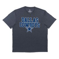 NFL Dallas Cowboys Men's Toned Up Short Sleeve Graphic Tee Shirt