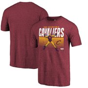 e36389be0b3 Cleveland Cavaliers Fanatics Branded Marvel Iron Man Invincible Tri-Blend  T-Shirt - Heathered